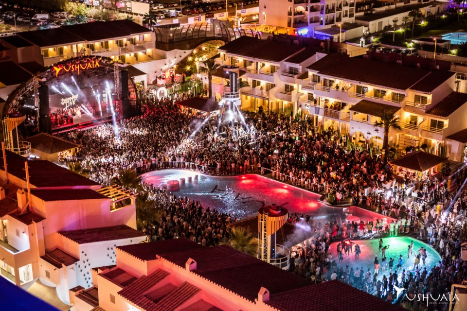Playa D En Bossa Ibiza Clubbing Beach S Only Luxury Hotel With The Ultimate In For Discerning Clubber