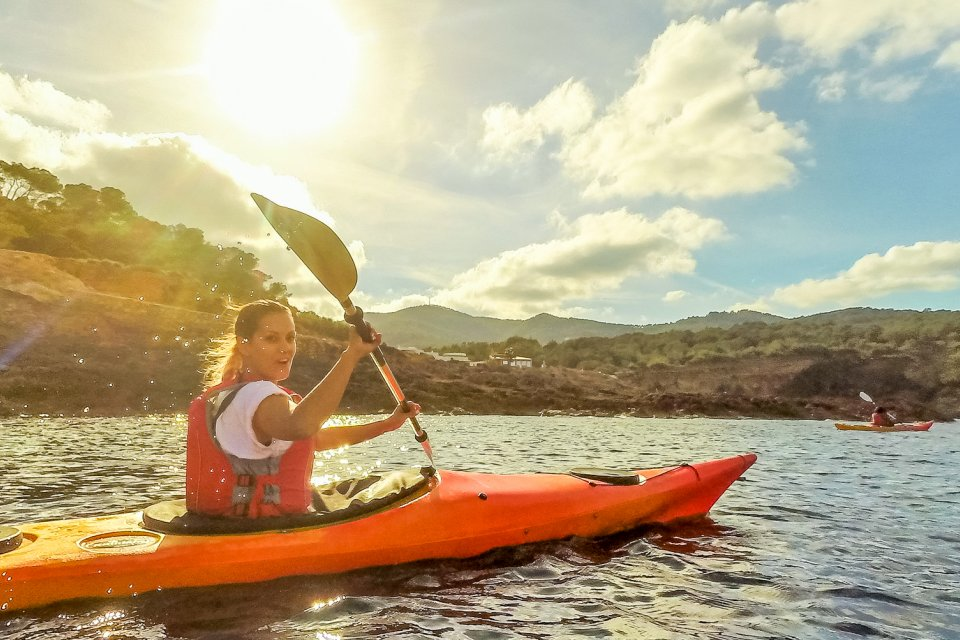 The Closest You Will Get To Sea Guided Kayak And Sup Al Excursions Along Beautiful Coast Of Ibiza