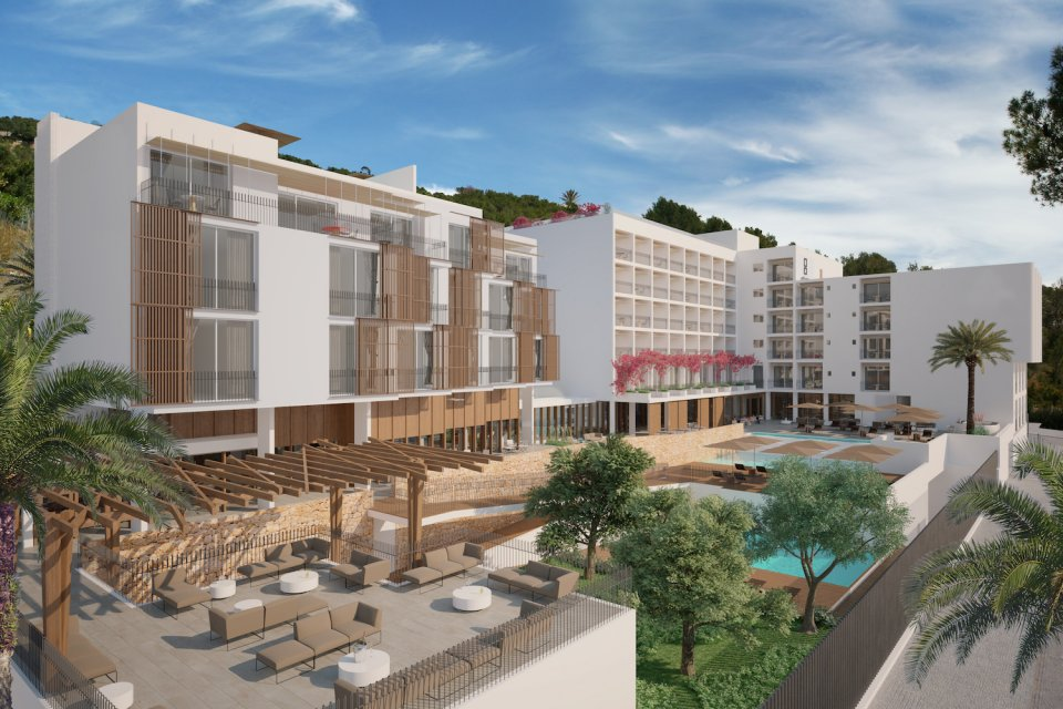 Work Has Started To Replace The Cur Victoria Hotel In Talamanca With A Brand New Upmarket It Is Being Launched By Island Entrepreneur Marc Rahola