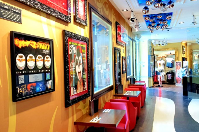 Hard Rock Cafe, Ibiza - rock star memorbilia