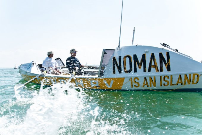 NoMan is an island - Row to stop HPV