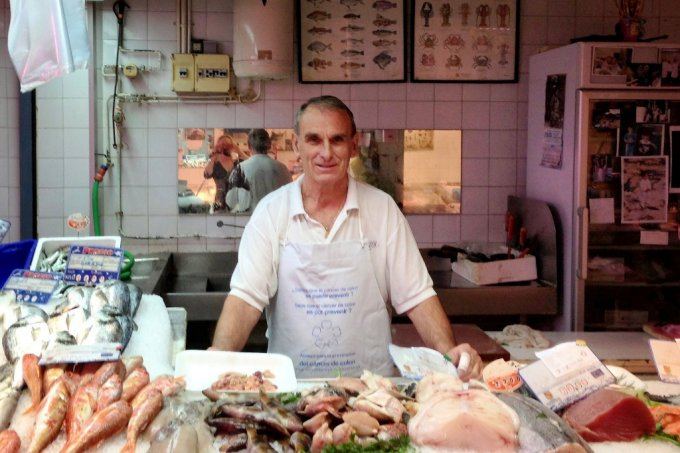 Ibiza Seafood - where to buy locally
