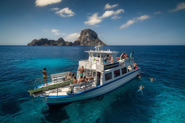 Image result for boat trip ibiza