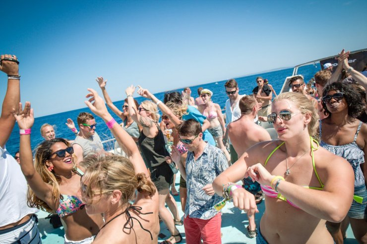 The island's only weekly trance boat party connects all fans of the ...