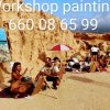 Painting workshop with Behzad The Artist