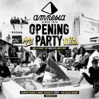 Amnesia Opening Party