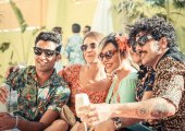 Review: Santos and Tropicana hotel opening parties